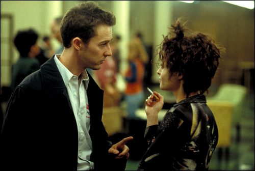 "film review of fight club The secret to the enduring allure of ""fight club"" may be that it is, as mr norton put it, quoting mr fincher, ""a serious film made by deeply unserious people."