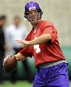 Vikings Favre Football