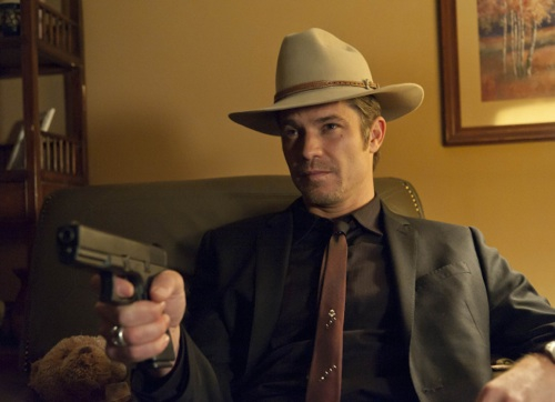 "JUSTIFIED: Episode 12 ""Coalition""  (Airs April 3, 10:00 pm e/p).  Timothy Olyphant. CR: Prashant Gupta / FX."