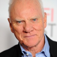 """HOLLYWOOD, CA - NOVEMBER 08:  Actor Malcolm McDowell arrives at """"The Artist"""" Special Screening during AFI FEST 2011 presented by Audi on November 8, 2011 in Hollywood, California.  (Photo by Alberto E. Rodriguez/Getty Images for AFI)"""