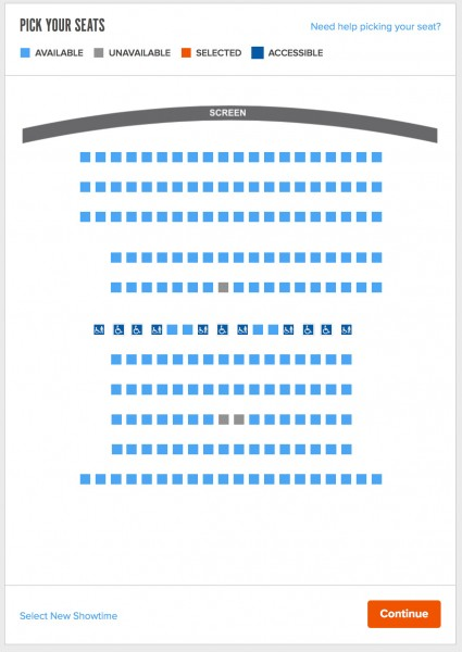 RESERVE SEATING