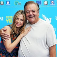 GIFFONI VALLE PIANA, ITALY - JULY 20:  Mira and Paul Sorvino attends 2013 Giffoni Film Festival photocall on July 20, 2013 in Giffoni Valle Piana, Italy.  (Photo by Stefania D'Alessandro/Getty Images)