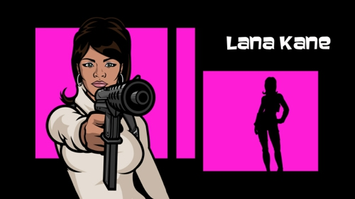 "ARCHER: ""Lana Kane"" as voiced by Aisha Tyler"