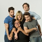 IT'S ALWAYS SUNNY IN PHILADELPHIA: Cast: Clockwise from Top Right: Glenn Howerton as Dennis, Charlie Day as Charlie, Danny DeVito as Frank, Kaitlin Olson as Sweet Dee and Rob McElhenney as Mac. CR: Jay Silverman / FX